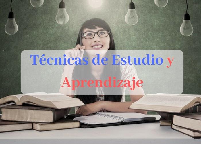 tecnicas de estudio y aprendizaje