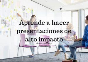 presentaciones de alto impacto